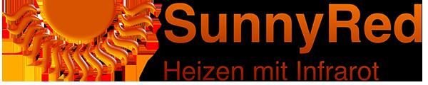SunnyRed - Heizen mit Infrarot-Logo
